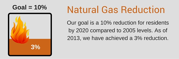 Natural Gas Reduction