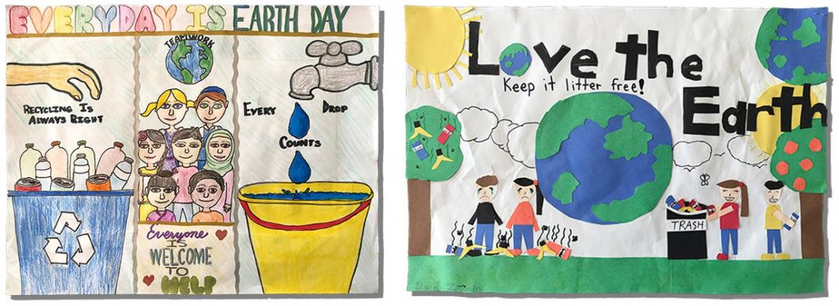 2018 Earth Day Poster and Writing Contest Winners | City of Hayward