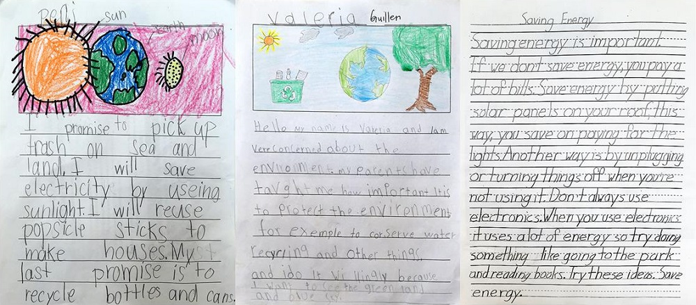 earth day poster writing contest winners city of hayward  3rd to 5th grade poems essays