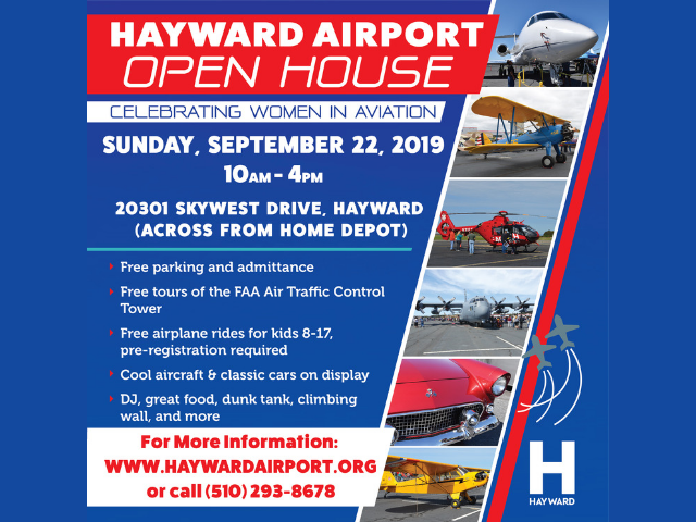 Hayward Executive Airport Open House video thumb