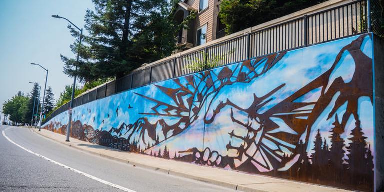 Mural on D Street