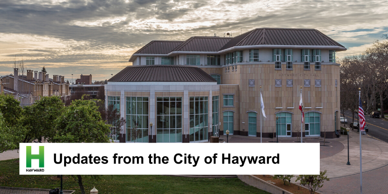 City of Hayward at Sunset