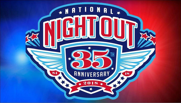 National Night Out 2018 35th Anniversary Logo