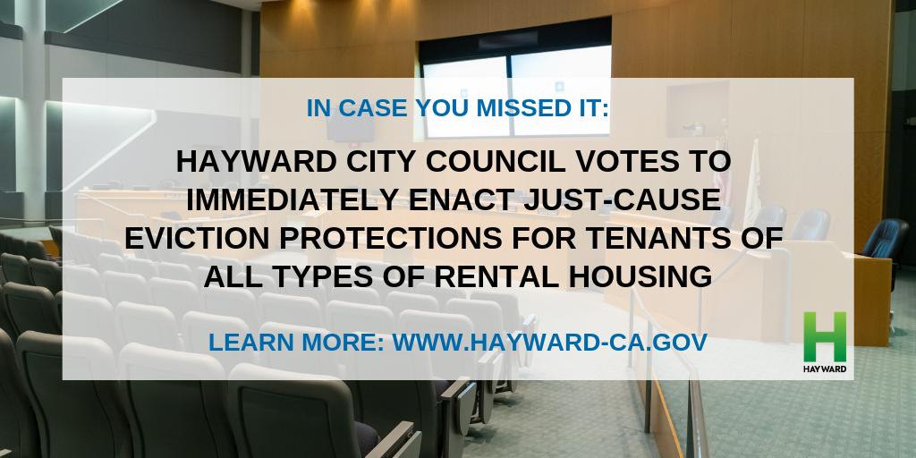 Just-cause eviction protections extended to more Hayward tenants