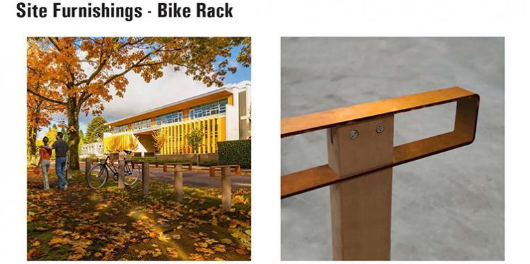 La Vista Park Site Furnishings - Bike Racks