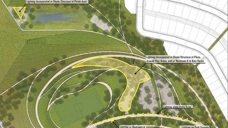 La Vista Park Lighting Strategies