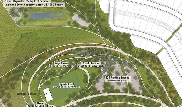 La Vista Park Parking Map