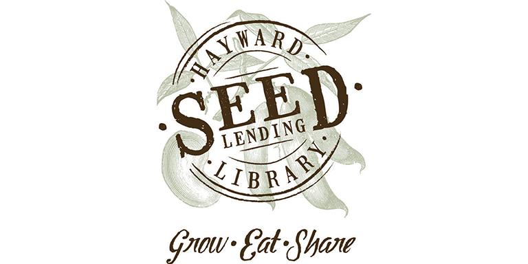 Hayward Seed Lending Library lobo