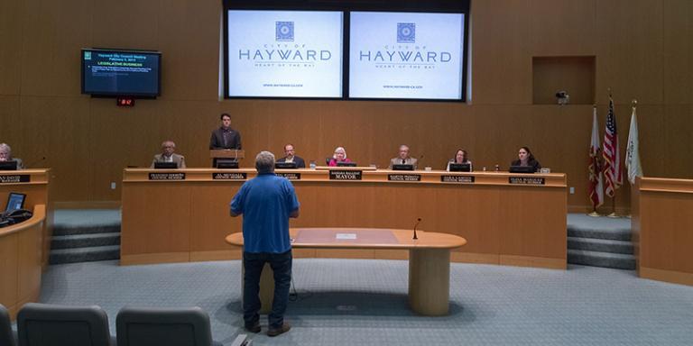 City Council Meeting, Hayward