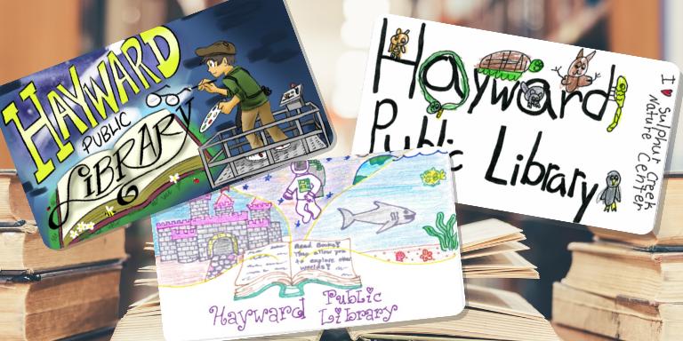 New Hayward Public Library Cards