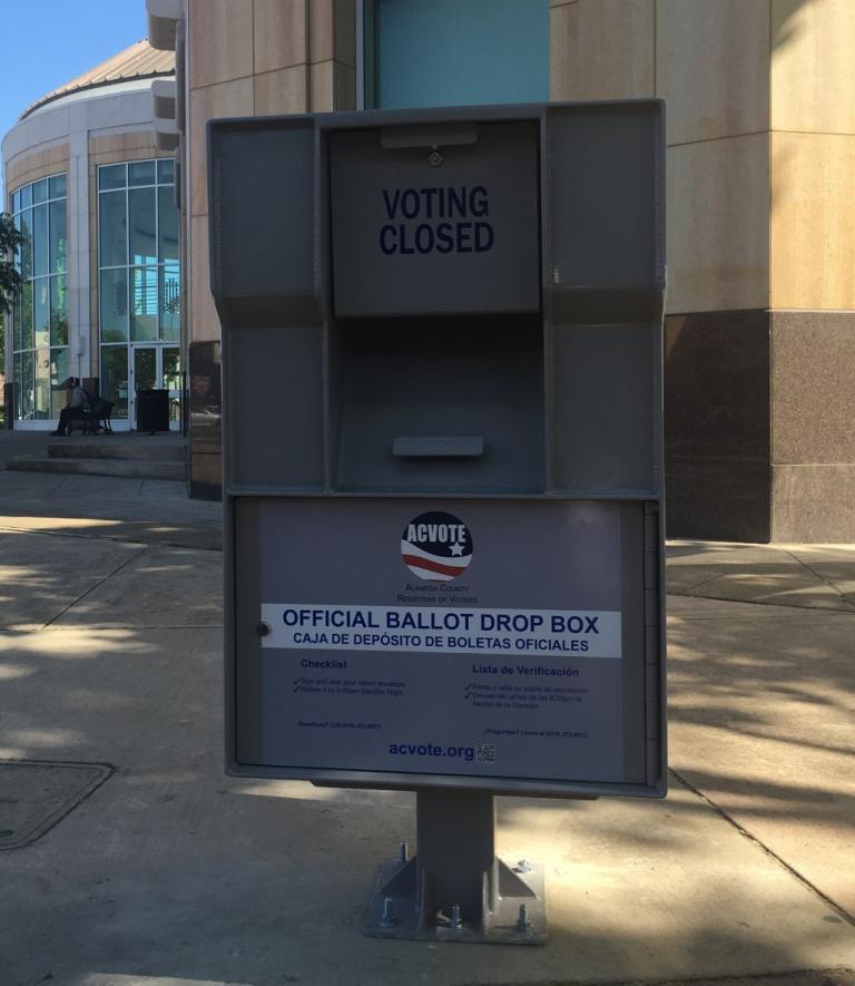 Official Election Ballot Drop Box
