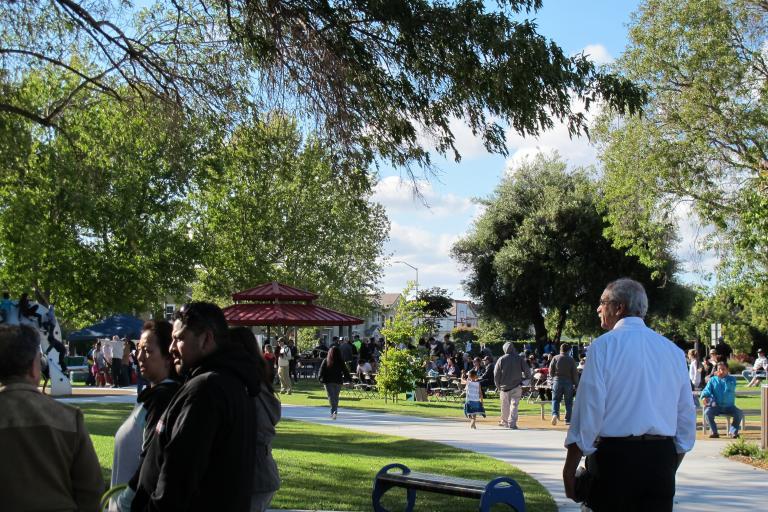 Greenwood Park Dedication