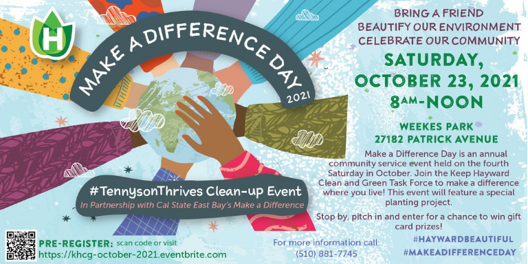 Make a Difference Day Flyer