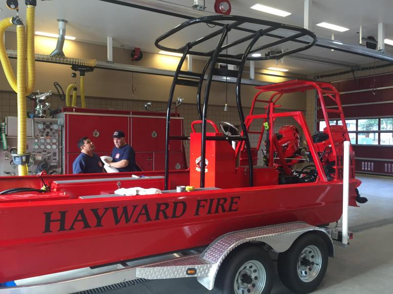New HFD Rescue Boat